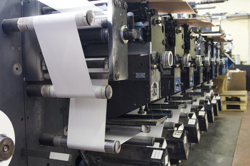 станок для печати наклеек