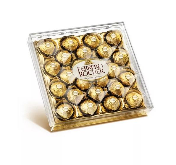этикетка на коробку конфет