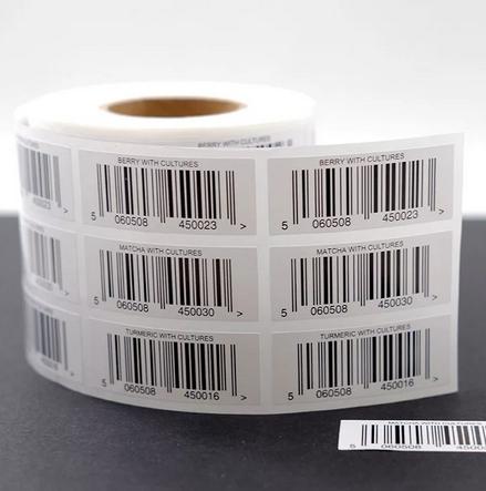 этикетка со штрих-кодом